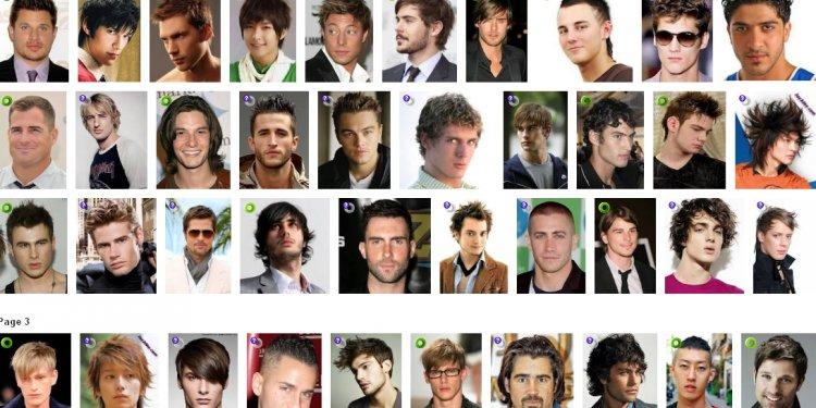 Black barber haircut chart