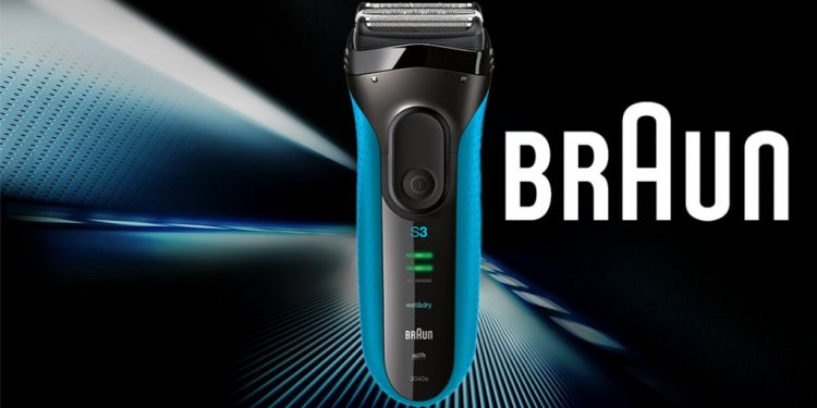 Braun Series 3 3040 Wet and