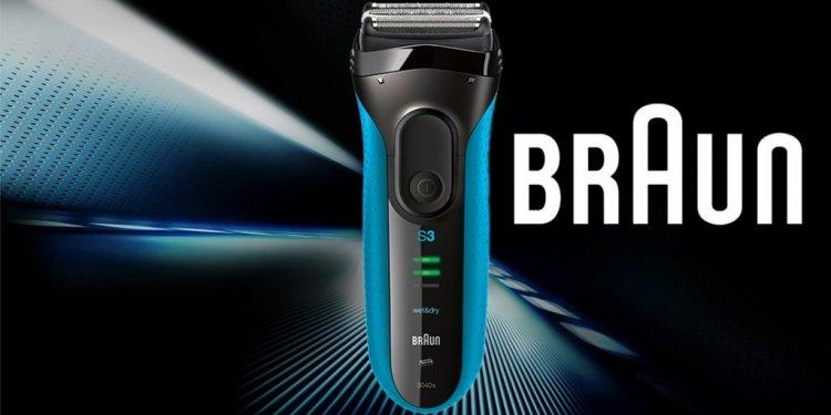 Braun Series 3 3040 Wet and