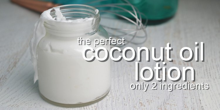 Coconut Oil Lotion Recipe