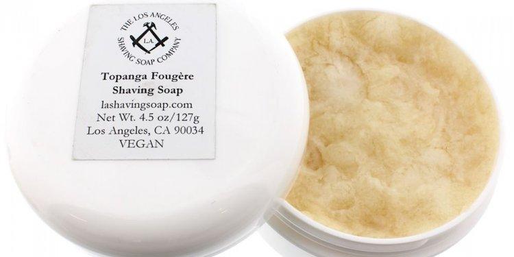 L.A. Shaving Soap Topanga