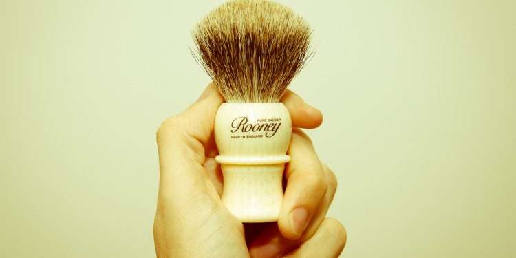 Badger brush [714]