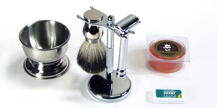 Safety Razor Wet Shave Kit