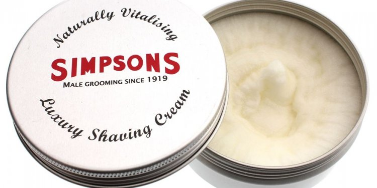 Simpson Luxury Shave Cream