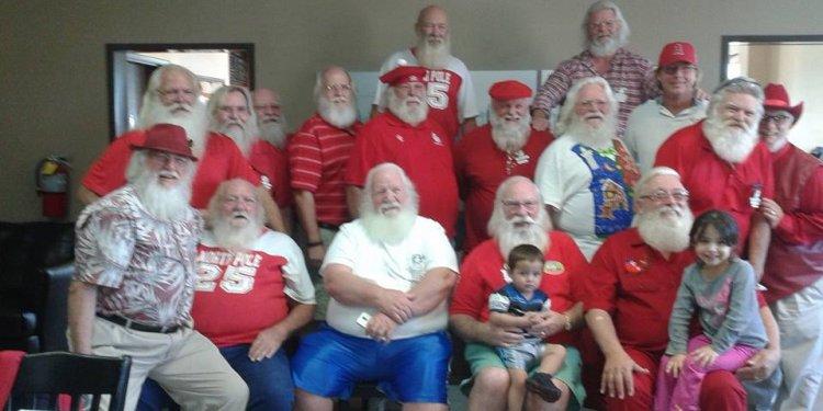 Of Real Bearded Santas