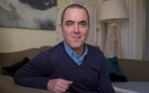 Actor James Nesbitt home in south London in December 2015
