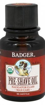 Badger Navigator Class Man Care Pre Shave Oil