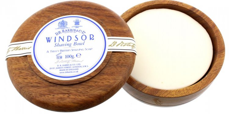 DR Harris Shaving Soap