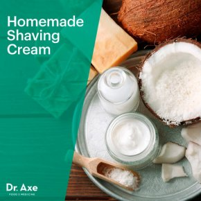 Homemade shaving cream - Dr. Axe