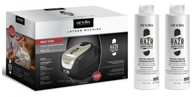 Hot lather Shaving cream Dispenser