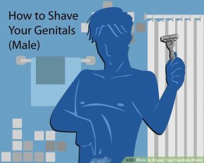 Image titled Shave Your Genitals (Male) Intro