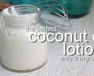 Coconut oil Aftershave