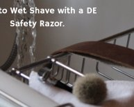 How to Wet Shave with safety Razor?