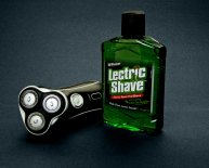 Shaving with electric razor
