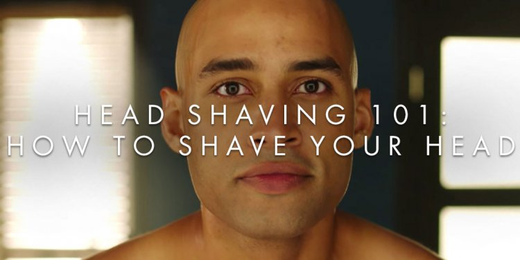 How to shave bald head?