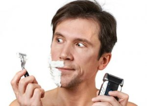 wet shaving or electric shaving?